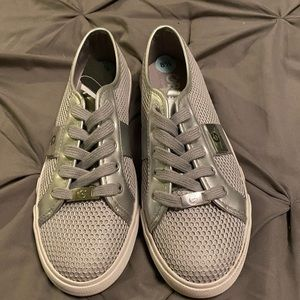 Guess silver shoes